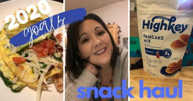 2020 goals (channel & personal)   Snack haul   Keto Green Smoothie