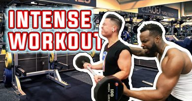 Attempting INTENSE Bicep and Back Bodybuilding Workout with Cash From 2HYPE!