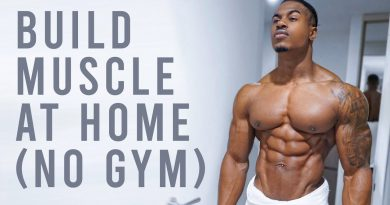 BUILD REAL MUSCLE AT HOME (NO GYM NEEDED)