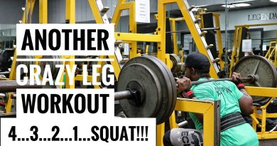 Bodybuilding Leg Workout | Only 4 Exercises