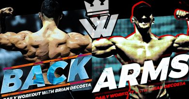Bodybuilding Workout | BACK & ARMS