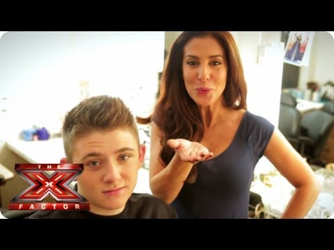 Boys, it's time to talk about Male Grooming - X Factor Make Up Room - The X Factor UK 2013