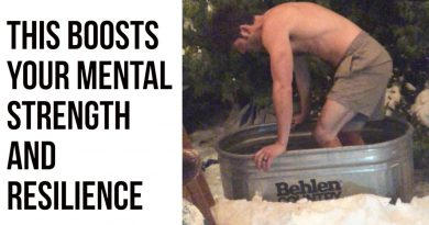 Daily Cold Plunges (even in the snow) Changes Your Body & Mind