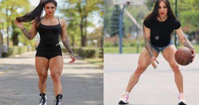 FEMALES BODYBUILDING, - Bakhar Nabieva, IFBB MUSCLE,GYM WORKOUT, BEAUTIFUL GIRL,