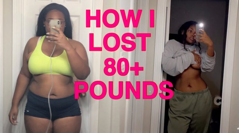 HOW I LOST 80+ LBS!! // My weight loss journey from a size 18 to 8 + TIPS