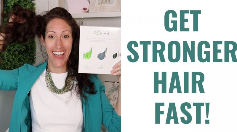How to Get Naturally Stronger, Thicker Healthier Hair SUPER FAST!