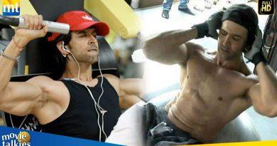 Hrithik Roshan's Gym Bodybuilding Workout For Krrish 4