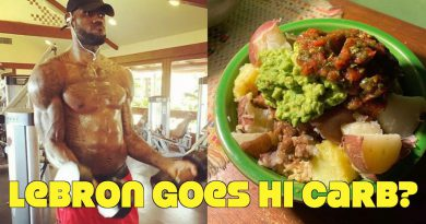 Lebron James Quits Keto, Goes High Carb! What He Eats In An NBA Day