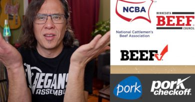 Meat Biz Funded Study Says Animal Protein Is Better Than Plant Protein! WTF?