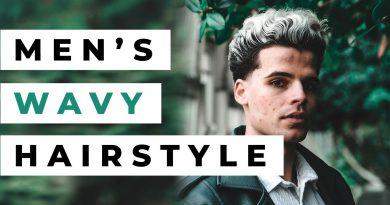 Men's Hair Inspiration: Wavy Haircut & Hairstyle   Lifestyle & Fashion