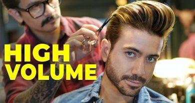 Men's HIGH VOLUME Hairstyle | Modern Quiff Men's Haircut 2020 | Alex Costa