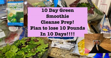 Plan to Lose 10 Pound in 10 Days|10 Day Green Smoothie Cleanse Prep|l Krys the Maximizer