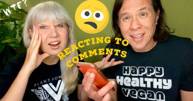 Reacting to Hateful Anti Vegan (& Some Nice) Viewer Comments, ie: Vegan Diet Makes You Blind?