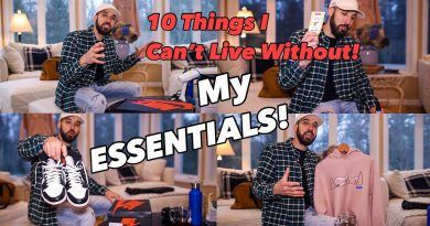TOP 10 ESSENTIALS - 10 THINGS I CANT LIVE WITHOUT - LIFESTYLE & FASHION