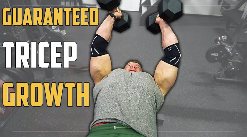 TRICEP GROWTH Workout - Classic Bodybuilding