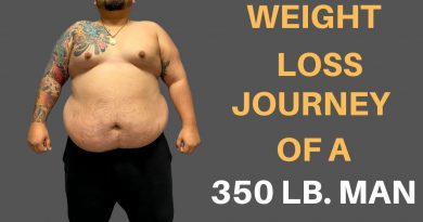 The Weight Loss Journey Of A 350 Lb. Man