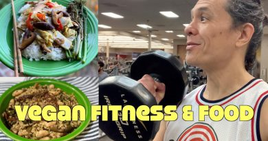 Vegan What I Eat In A Day & Exercise