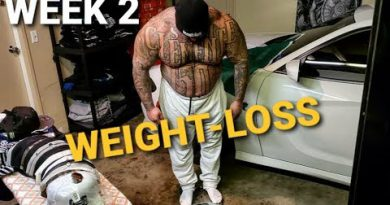 WEIGHT-LOSS JOURNEY | WEEK 2 - WEIGH IN/ CHEST/ CARDIO AND SAUNA