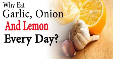 Why eat garlic, onion and lemon every day | Natural Health