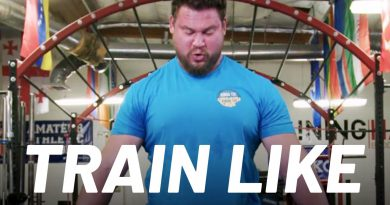 World's Strongest Man Martins Licis Explains His Workout | Train Like a Celebrity | Men's Health