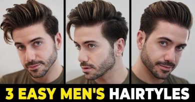 3 EASY HAIRSTYLES FOR MEN 2020 | Men's Hairstyle Tutorial | Alex Costa