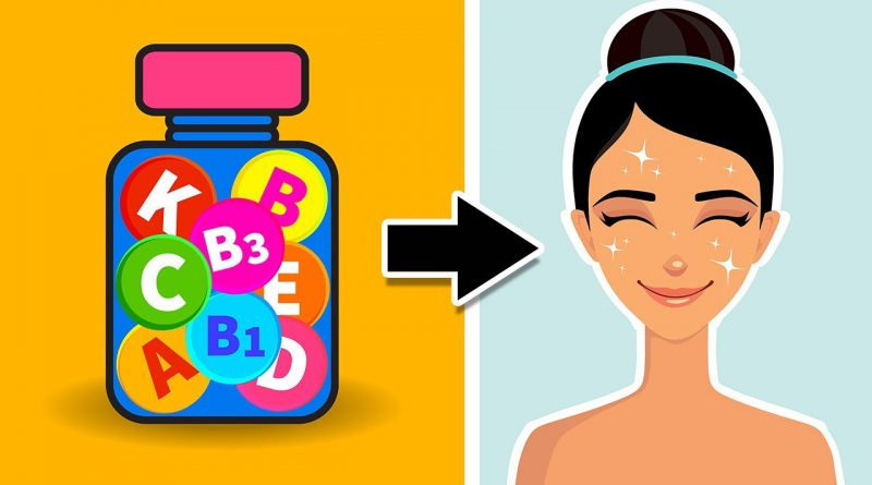 5 Of The BEST Vitamins for Healthy Looking Skin!