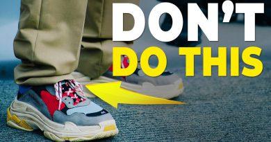 6 Shoe Rules You Should NEVER Break | Men's Sneakers | Alex Costa