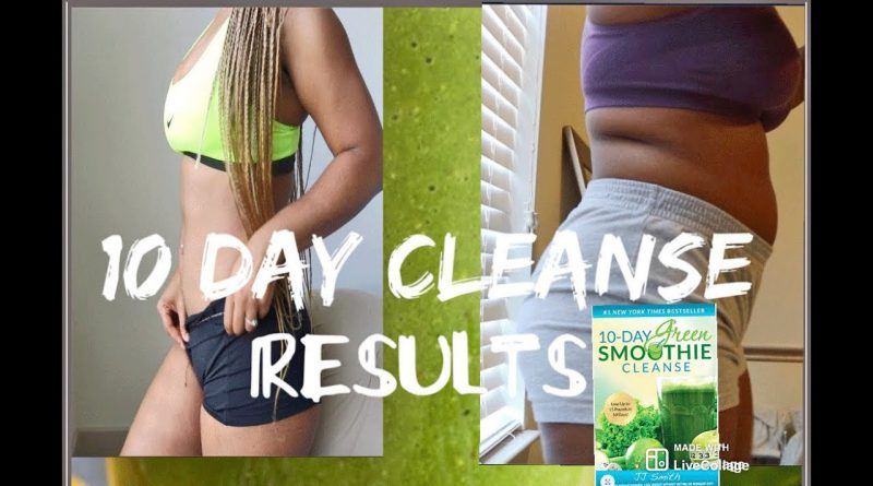 BOOK REVIEW 10 DAY SMOOTHIE CLEANSE RESULTS