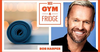 Bob Harper Shows His Home Gym & Fridge   Gym & Fridge   Men's Health