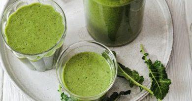 Calcium Rich Chai Green Smoothie