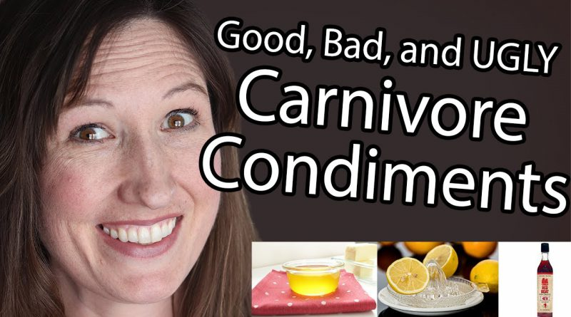 Condiments on the Carnivore Diet