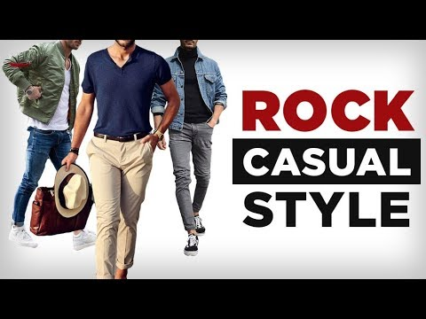 Dress Sharp WITHOUT A Suit | 3 Secrets To Casual Style
