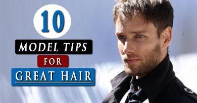 Healthy HAIR TIPS for men   Men's hair care 2020