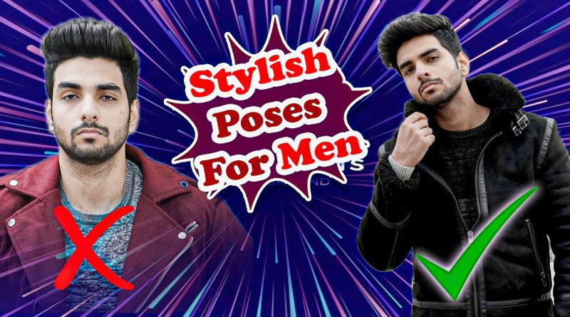 How to POSE for PHOTOS in a PHOTOSHOOT? Men's/ Boys poses to look sexy!