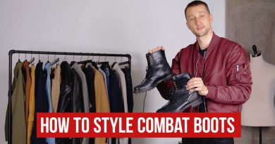 How to Style Combat Boots with Outfit Inspiration | Men's Fashion