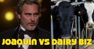 Joaquin Phoenix Targeted By Dairy Biz! Upset Over Pro Vegan Oscar Speech