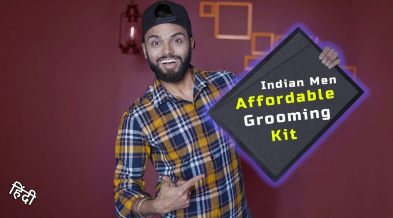 MOST AFFORDABLE GROOMING KIT | Grooming Tips for Men in Hindi
