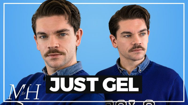 Men's Hairstyle Just Using Gel | How To