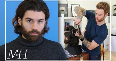 Men's Long Haircut and Hairstyle | How To Cut & Style Long Hair