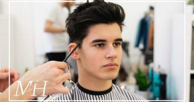 Men's Medium Length Haircut With High Hold | 2020 Hairstyle Tutorial