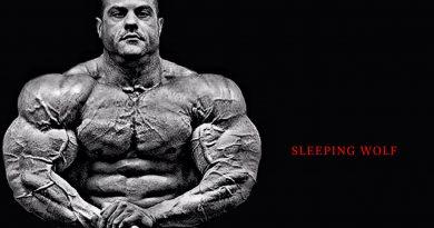 SLEEPING WOLF [HD] Bodybuilding Motivation