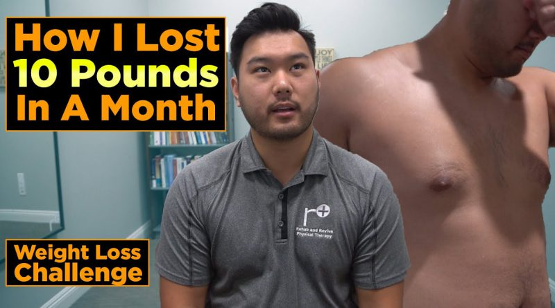 Weight Loss Journey Final Results | Overweight Physical Therapist Tries to Lose 10lbs in 1 Month!