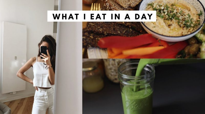 What I Eat In A Day: Vegane Lasagne + Green Smoothie