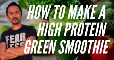 """""""How To Make A High Protein Green Smoothie using Hemp Seeds"""""""