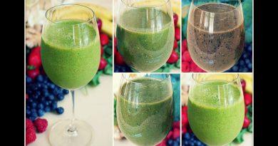 4 Anti-Inflammatory Green Smoothie Recipes (Dairy Free)