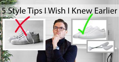 5 Men's Style Tips I Wish I Knew Earlier