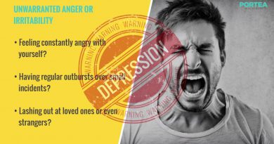 7 Warning Signs of Depression | Portea's Counselling Services