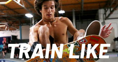 A Pro Skateboarder's Gnarly Science-Based Workout   Train Like   Men's Health