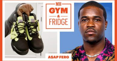 A$AP Ferg Shows His Home Gym & Fridge | Gym & Fridge | Men's Health