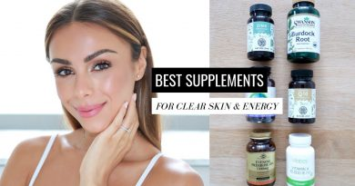 BEST SUPPLEMENTS FOR CLEAR SKIN & ENERGY | Annie Jaffrey